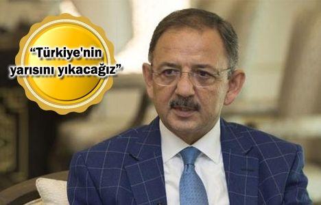 Mehmet Özhaseki: Yapacağımız yapılar 200 sene yıkılmayacak!