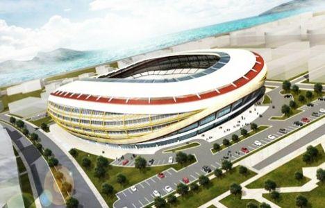 Göztepe Stadı'nda çalışmalar tüm hızıyla devam ediyor!