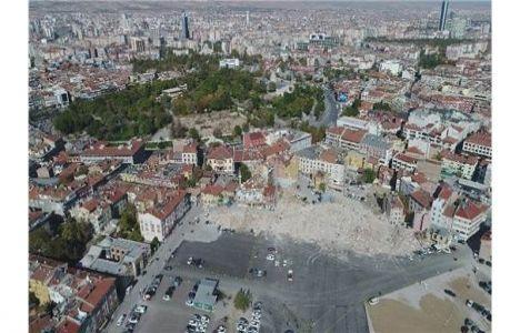 Konya'da kentsel dönüşüm tüm hızıyla devam ediyor